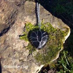 Coeur de vie d'onyx